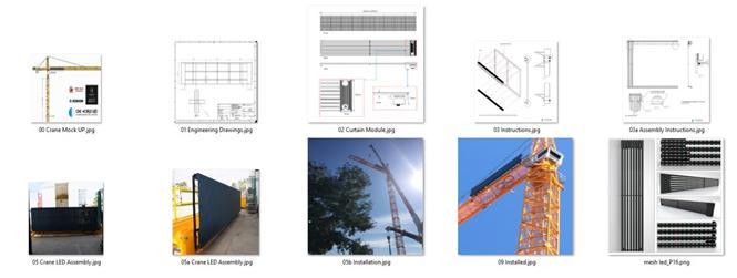 crane led press release